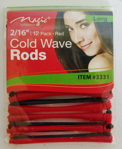 Cold wave rod red