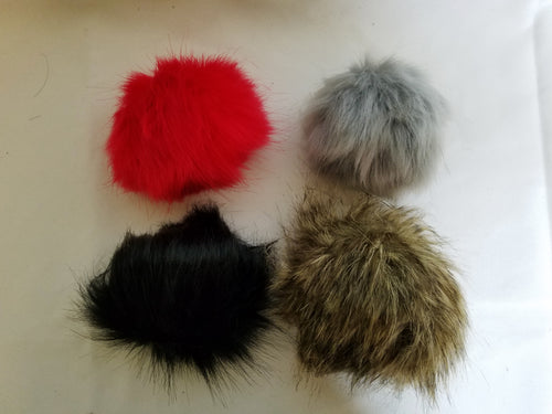 SALE POMPOM FUR BALL (dz price)