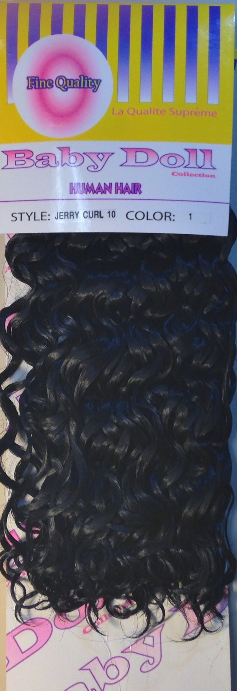 Baby doll jerry curl 10