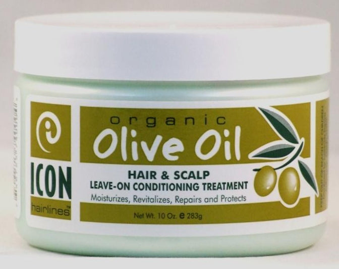 ICON OLIVE HAIR COND CREAM 10oz