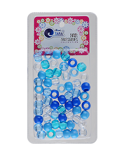 MEDIUM BEAD BLU MIX 60CT