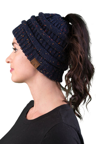 C.C Exclusives BeanieTail - Confetti Navy