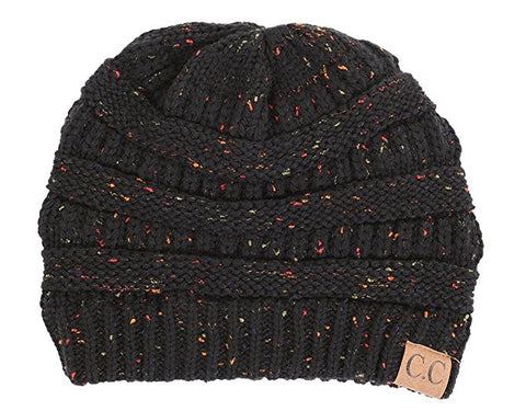C.C Exclusives Classic Fit Beanie - Confetti Black
