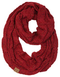 C.C Exclusives Infinity Scarf - Confetti Burgundy