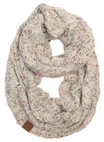 C.C Exclusives Infinity Scarf - Confetti Oatmeal