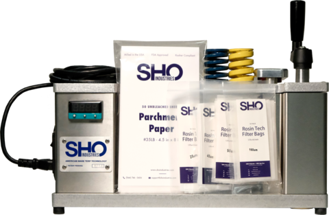 SHO Industries Rosin Roller™- Commercial Rosin Extraction