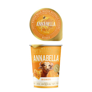 Annabella Water Buffalo Yogurt: Yogurt rich in calcium and A2 protein