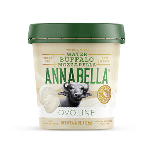 Fresh Water Buffalo Mozzarella (Packed In Water) / 4.4 oz