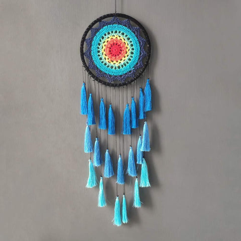 Groovy Chakra Dream Catcher