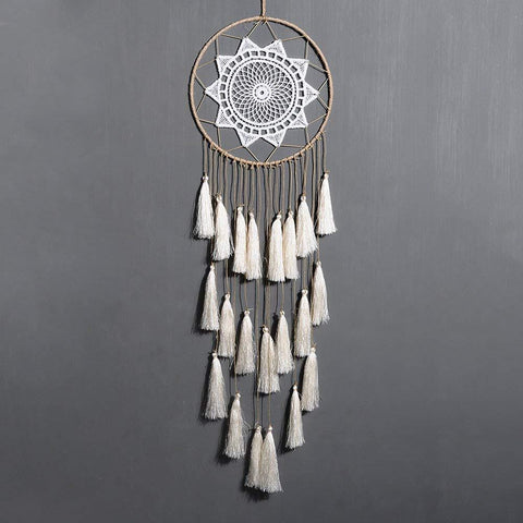 Groovy White Dream Catcher