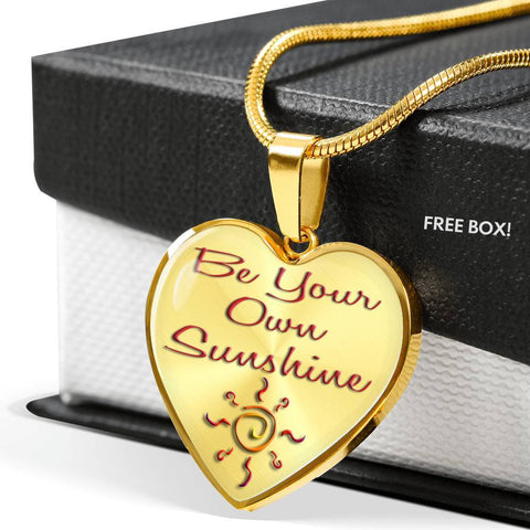 Happy Sunshine Pendant - Red