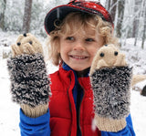 Hedge Hog Love Mittens