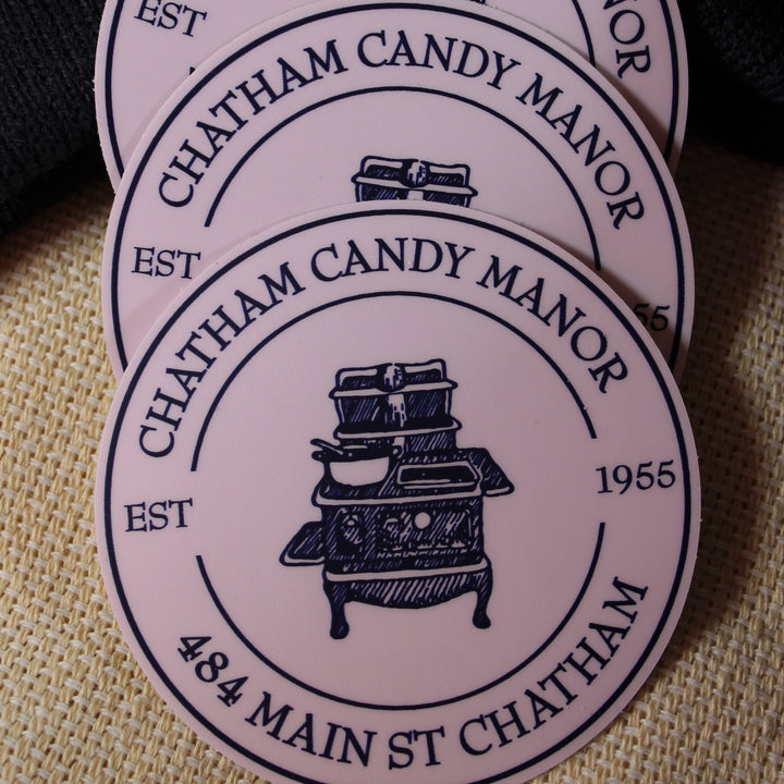 Chatham Candy Manor Sticker