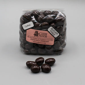 Sugar Free Espresso Beans - Dark Chocolate