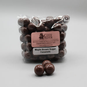 Milk Chocolate Maple Brown Sugar Caramels