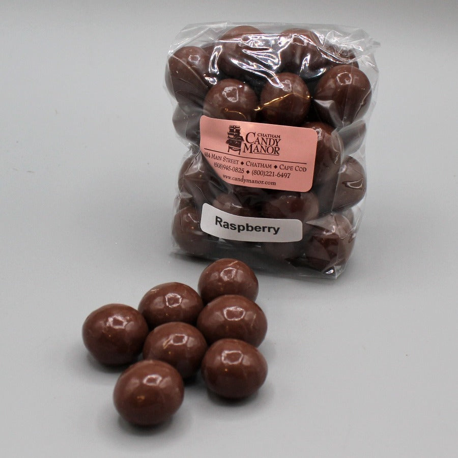 Milk Chocolate Raspberry Malt Balls