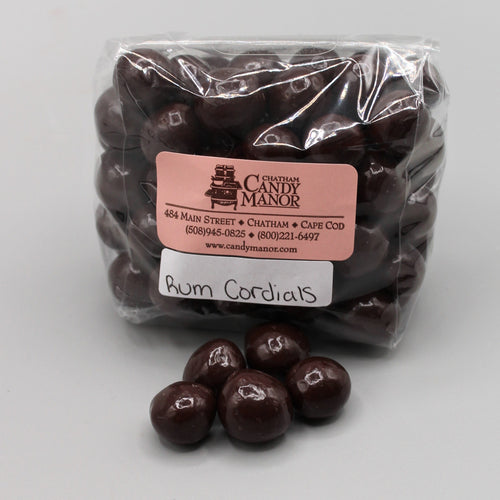 Rum Cordials - Dark Chocolate Covered