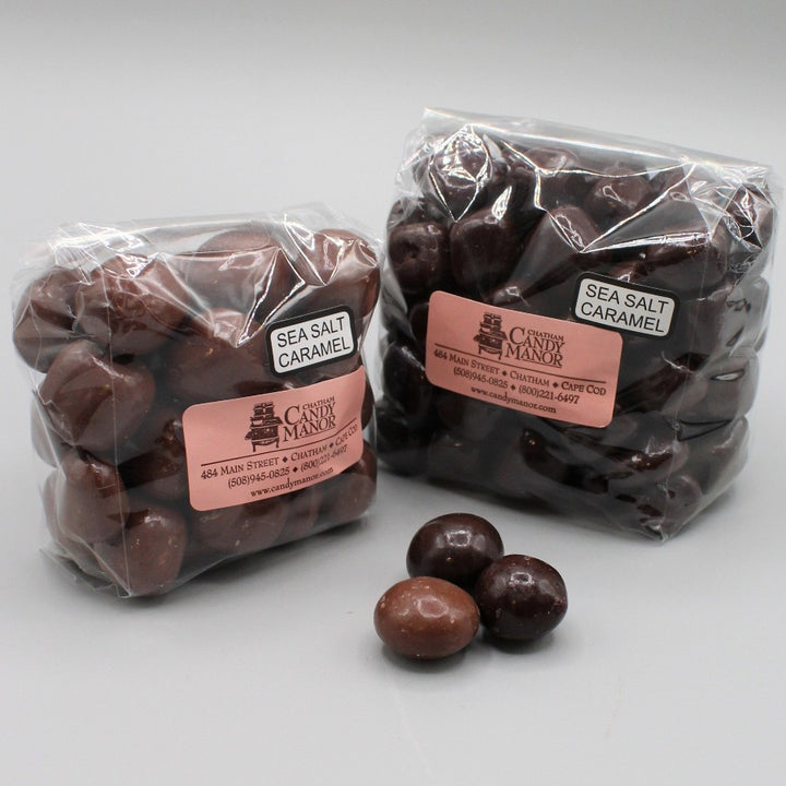 Sea Salt Caramels - Chocolate Covered