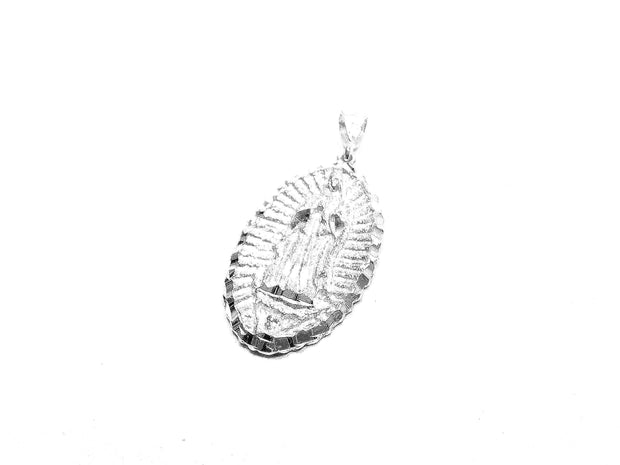 Oval Guadalupe Virgin Mary Charm