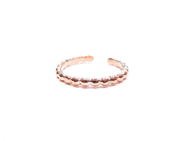 Rose Gold Toe Ring
