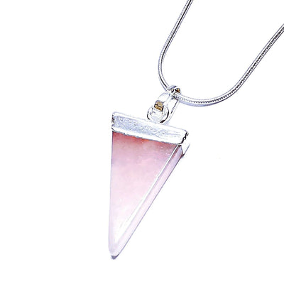 Rose Quartz Shard Pendant