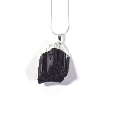 Natural Black Tourmaline Pendant