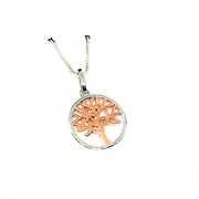 Rose Gold Tree of Wisdom Necklace