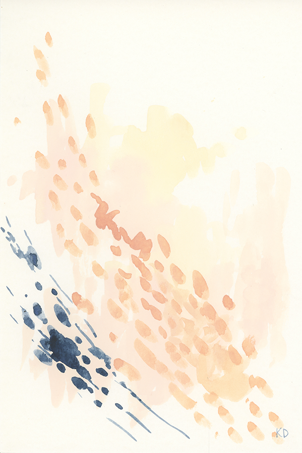 Mussel Movement #3 - Original Watercolour Artwork $20CAD by @kaitcreative