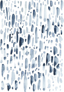 Good Rain #3 - Original Watercolour Artwork $40CAD by @kaitcreative