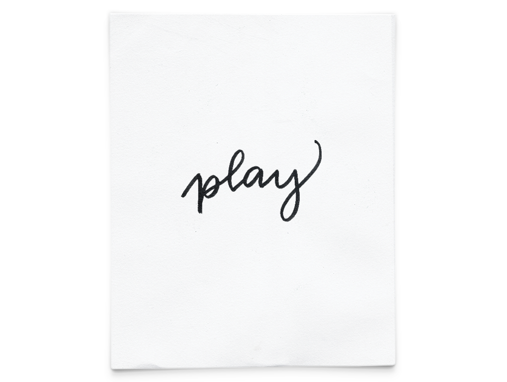 play  - printable art. Quickly update your space with this printable PDF! BUY NOW $1.00