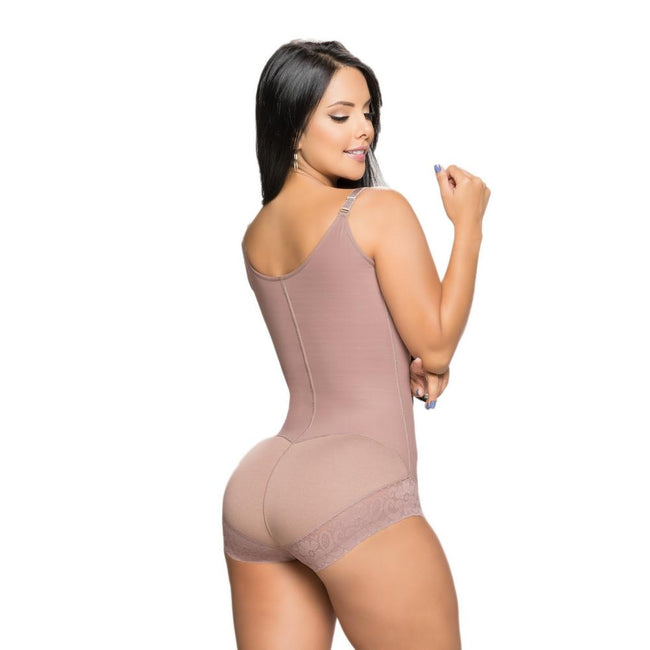 Faja-Salome-535J-Girdle-Bodysuit-Strapless-cup-high-back-Coffe