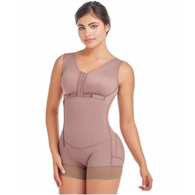 Delie by Fajas Diseños DPrada Faja Colombiana 09053 Compression Garments after Liposuction-Cafe´