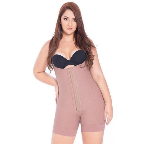 Fajas-Colombianas-Melibelt-2019-Girdle-short-brand-clothing-silicone-prevents-garment-from-rolling-Double-abdominal-reinforcement-Coffe