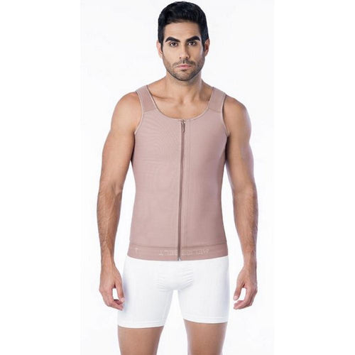 Faja-Colombiana-Melibelt-4011-High-Compression-Vest-posture-corrector-Coffe