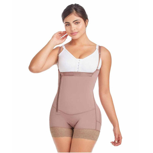 DELIE-by-Fajas-DPrada-Faja-Colombiana-11046-Postpartum-Reducing-and-Shaping-Body-shaping-girdle-Cafe'