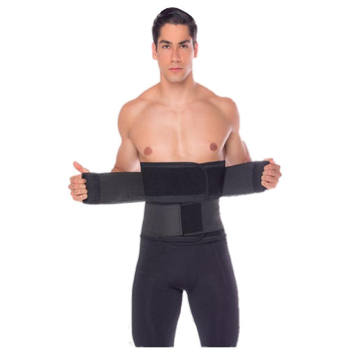 3324 Fajas Colombiana Yulii Men's Sport & Workout Double Velcro adjustable band