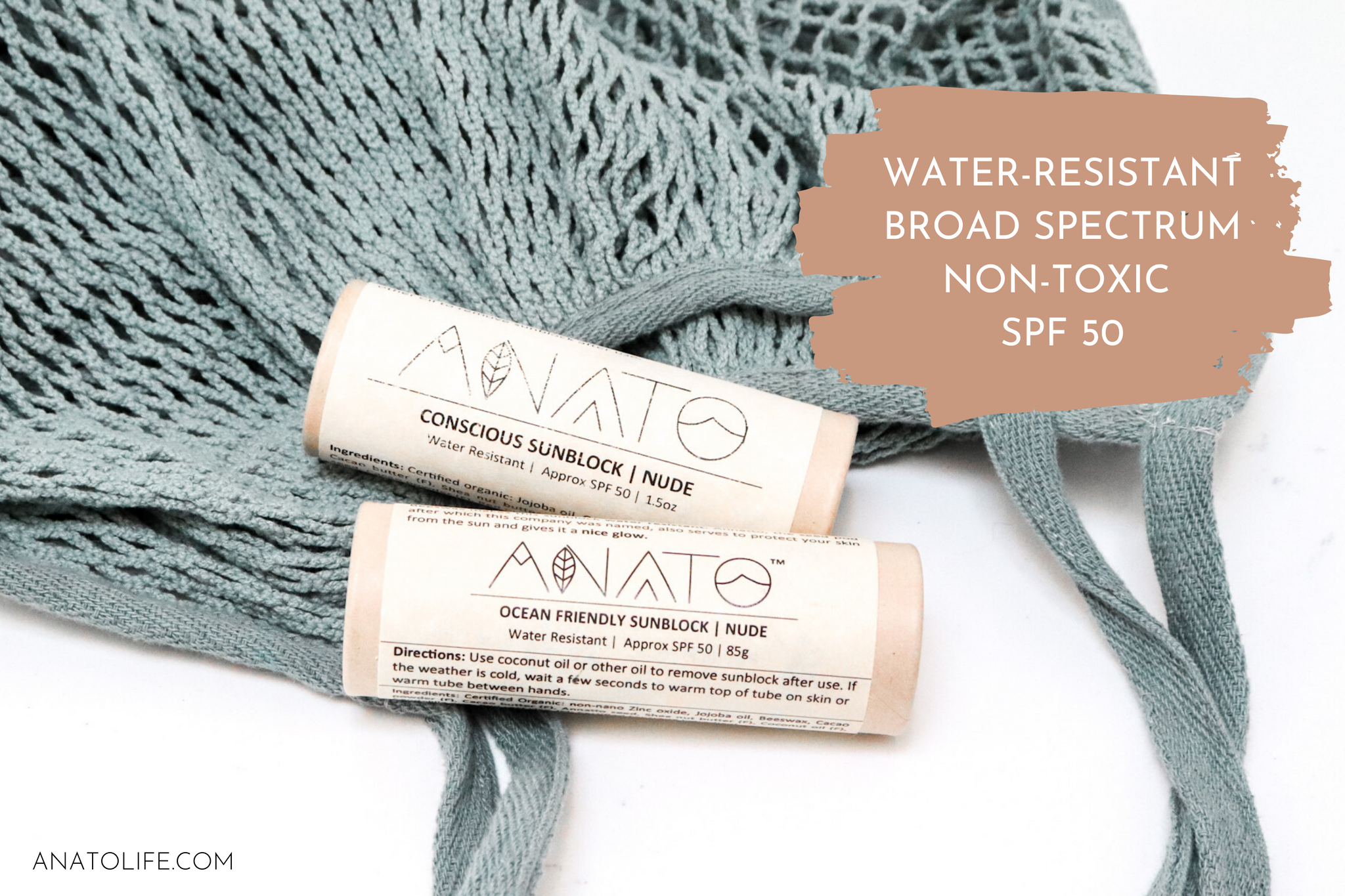 Ocean Friendly Sunblock by Anato Regenerative Skincare