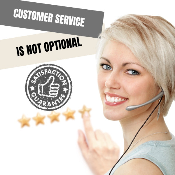 Customer Service Is Not Optional