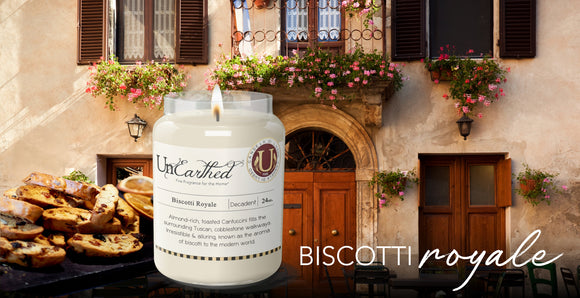 Biscotti Royale Scented Premium Candle