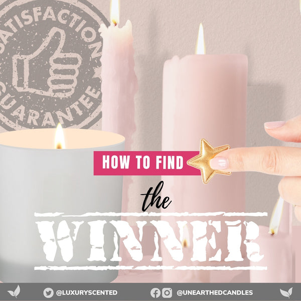BLOG HOW TO FIND THE WINNER - why does my luxury scented candle burn fast worth it wont stay lit a hole down the middle best seller that actually smells