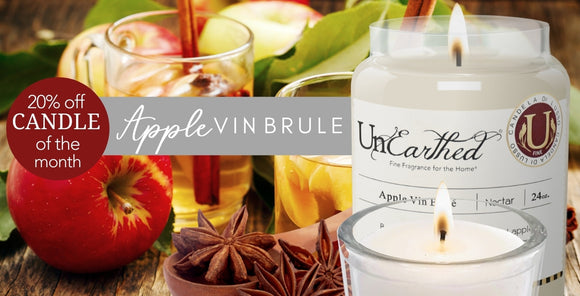 Luxury Candle Sale, Apple Vin Brule, Bourbon Spiced Italian Apple Fall and Christmas Scented Candle