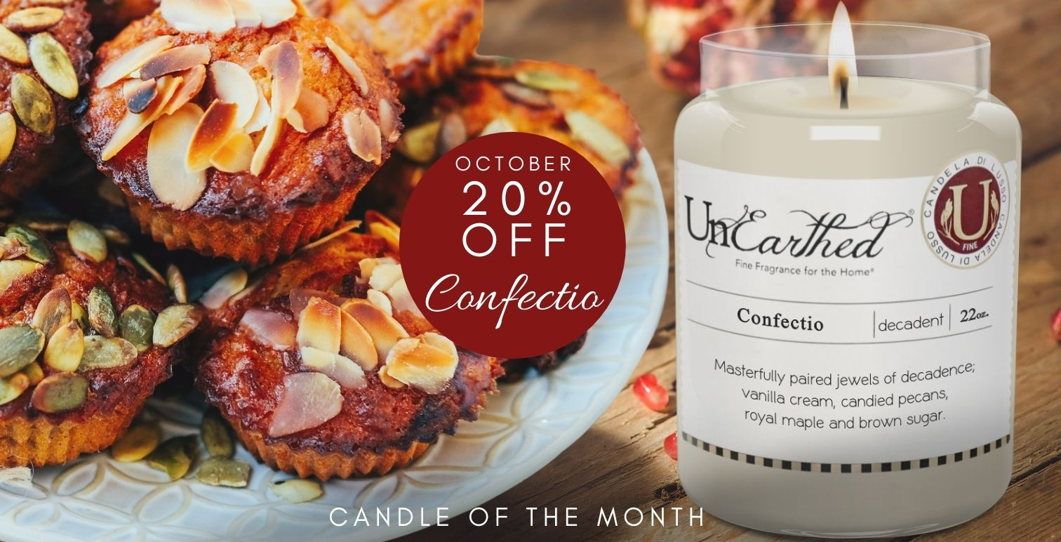 Candle of the month!  Sale Highly Scented Luxury Candles for the Holidays Gifts Thanksgiving & Christmas