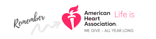 AMERICAN HEART ASSOCIATION PERFECT GIFT FOR MOTHERS FATHERS BIRTHDAY GRANDPARENTS DAY GIFT SCENTED CANDLE LIFE IS WHY WE GIVE TO THE CAUSE RED