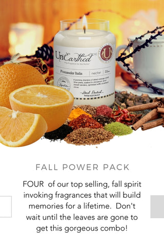 fall gift scented candles autumn spice warm luxury fragrance essential oils