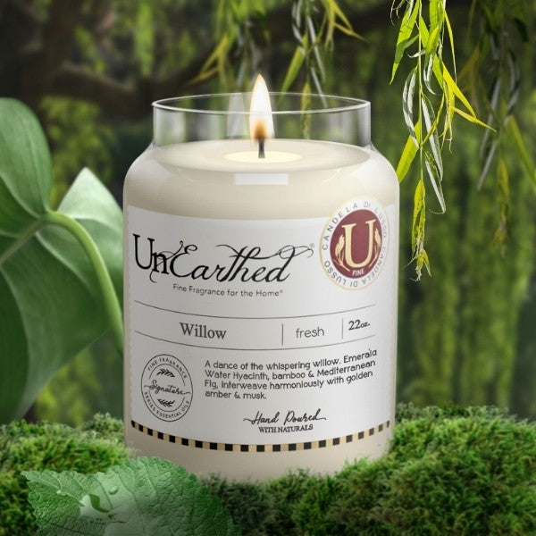 How we describe Willow, Luxury, Premium Scented Candles