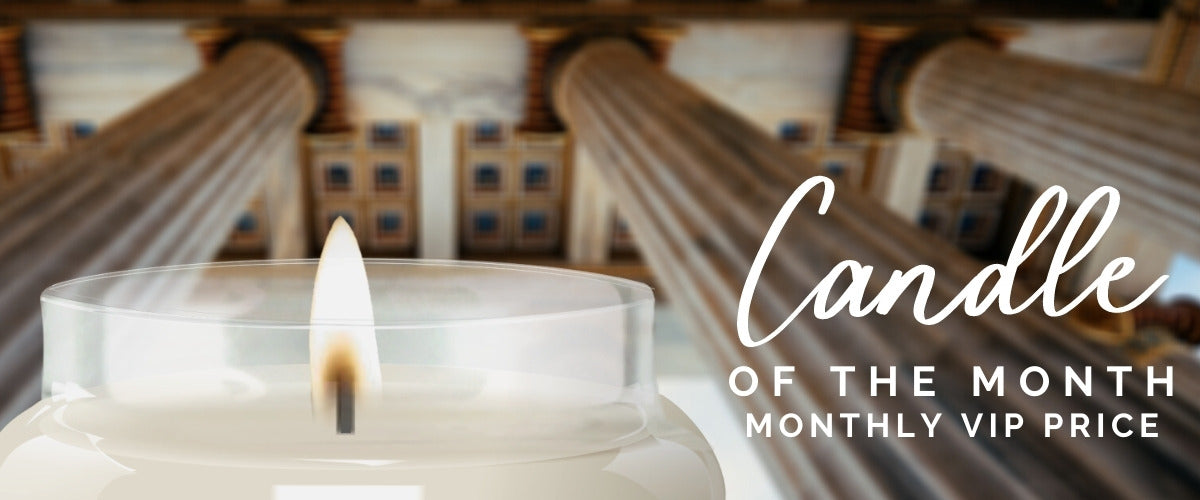 Candle of the Month, UnEarthed VIP sale price on Luxury Vegan Natural Highly Scented Candle