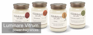 Luminare Vitrum, High Performance, highly scented candles, Unearthed by Candleberry