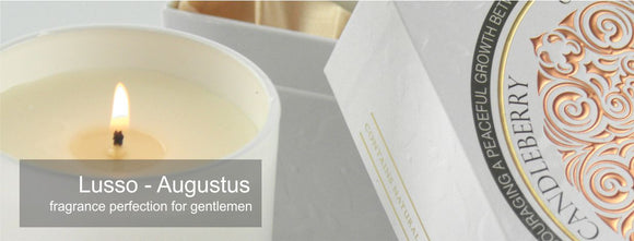 Luxury Candles by UnEarthed, a Candleberry brand.  A luxury gift for men.