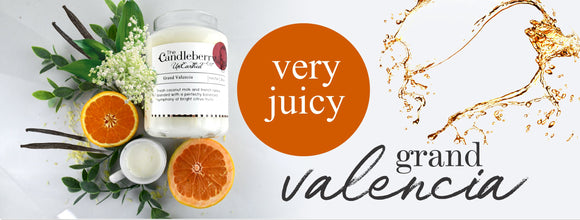 Very Juicy Grand Valencia Scented Candles & Room Sprays