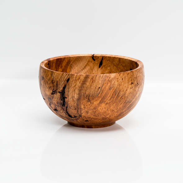"Custom #104 - 5.5"" Maple Burl Bowl"